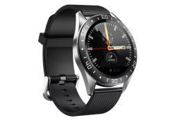 Смарт-часы Lige GT105 с функцией тонометра Черные (127-1)