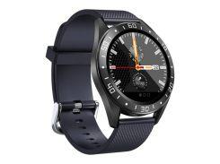 Смарт-часы Lige GT105 с функцией тонометра Черные (127-2)