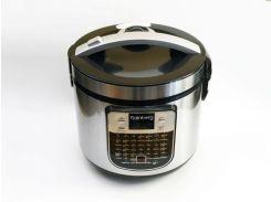 Мультиварка + йогуртница RainbergRB-6209 1000 Вт 45 программ Серебристая (hub_Htwe44729)
