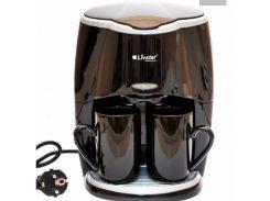 Кофеварка капельная Livstar LSU-1190 с 2 чашками Черная (300151)
