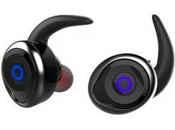 Беспроводные Bluetooth наушники Awei T1 Twins Earphones Черные (008540)