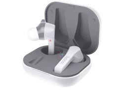 Беспроводные Bluetooth наушники TWS HOCO Pleasure wireless headset ES34 в кейсе White