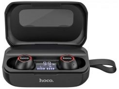 Наушники Bluetooth TWS Hoco Treasure song ES37 беспроводные в кейсе Черные