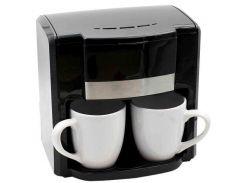 Кофеварка капельная Rainberg RB-613 + 2 чашки 500W Black (112604)