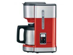 Кофеварка SilverCrest SKMD 1000 A1 с таймером 24 H Красный (01530)