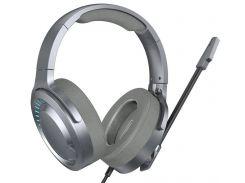 Игровые наушники BASEUS GAMO Immersive Virtual 3D Game headphone NGD05-0A (Серые)