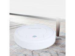 Робот пылесос XIMEIJIE MOP Robot робот-уборщик для всех типов пола полотёр для легкой уборки пола Белый