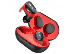 Наушники Bluetooth Hoco Clear sound TWS ES41 Вlack/Red