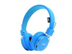 Наушники беспроводные с микрофоном NIA Q8-851S microSD Синие