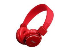 Bluetooth наушники накладные NIA Q8-851S microSD Красные