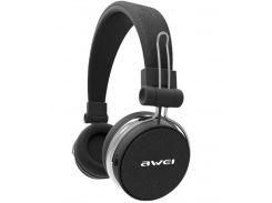 Беспроводные Bluetooth наушники Awei A700BL Черный (gr_008543)