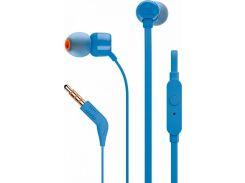 Гарнитура JBL T110 Blue (JBLT110BLU)
