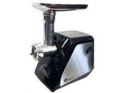 Мясорубка Domotec MS-2023 2800W Черный с серебристым (010826)