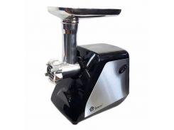 Электромясорубка с соковыжималкой Domоtec MS-2023 2800w Черная с серебристым (300495)