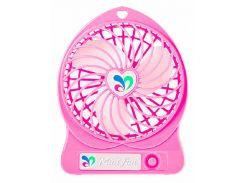 Вентилятор настольный Dellta Pink (hub_RVfv39634)