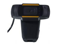 Веб-камера Lesko А870 с микрофоном Black (1297-6151)