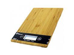 Весы кухонные Domotec ACS KE-A до 5 кг Коричневый (007689)