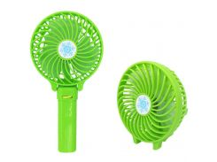 Портативный настольный вентилятор Handy Mini Fan Зеленый (200714)
