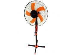 Напольный вентилятор Domotec MS-1620 с таймером 3 режима Orange (mt-183)