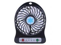Мини-вентилятор Portable Mini Fan Black (mt-295)