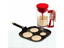 Универсальный миксер с дозатором Pancake Machine Красный (op272922801)
