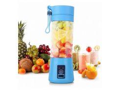 Портативный фитнес-блендер Daiweina Smart Juice Blue шейкер для коктейлей и смузи USB (3479-10077)