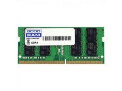 Оперативная память для ноутбука SoDIMM DDR4 16GB 2400 MHz Goodram GR2400S464L17/16G (8606049)