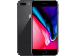смартфон apple iphone 8 plus 64gb space gray refurbished (std03362)