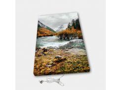 Обогреватель настенный электрический инфракрасный картина ионизация АртТепло Осень в горах (Hot00018)