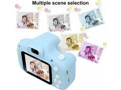 Детский цифровой силиконовый фотоаппарат GM14 детская фото-камера (MLOL-360)