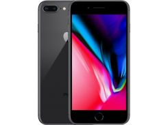 смартфон apple iphone 8 plus 256gb space gray refurbished (std03364)