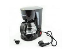 Кофеварка капельная Domotec MS-0707 650 W Black (101080)