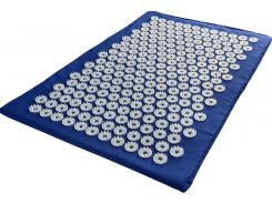 Акупунктурный коврик аппликатор Кузнецова Универсал 40 х 64 см Синий (230)