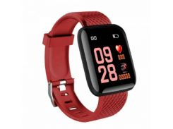 Фитнес-трекер Браслет 116+ Red (20506-2)