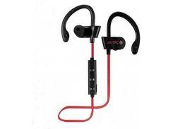 Беспроводные спортивные Bluetooth наушники MDR RT 558 BT с креплением на ухо Red (008352)