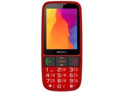 Nomi i281+ Dual Sim Red