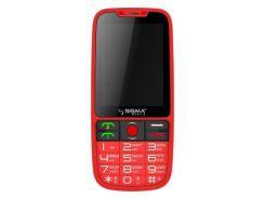 Sigma mobile Comfort 50 Elegance3 Dual Sim Red