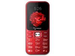 Sigma mobile X-style 32 Boombox Dual Sim Red