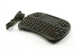 Беспроводная клавиатура с тачпадом Rii mini i8 Riitek 2.4GHZ RUS Черный (004060)
