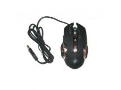 Игровая компьютерная мышь Keywin X6 проводная Черный (008356)