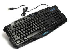 Клавиатура игровая MHZ M200 с подсветкой Черный (009923)