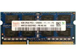 Оперативная память SK hynix SODIMM DDR3-1600 4GB PC3-12800S (HMT351S6CFR8C-PB)