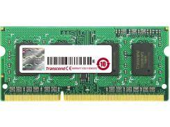 Оперативная память Transcend SODIMM DDR3-1066 4096MB PC3-8500 for Apple (TS4GAP1066S)