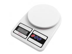 Весы кухонные до 10 кг Adenki DT-400 Белые (77-01290-01)