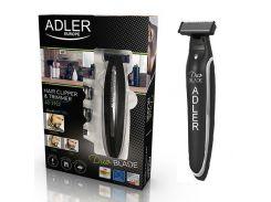 Триммер Adler AD-2922 5-в-1 с зарядкой от USB Black (111594)