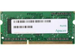 Оперативная память So-Dimm Apacer DDR3 2GB 1600MHz (DS.02G2K.HAM) (6360427)