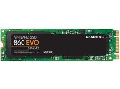 SSD накопитель Samsung 860 EVO 500GB M.2 SATA MLC (MZ-N6E500BW) (6381547)