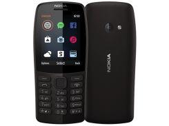 Мобильный телефон Nokia 210 Dual Sim Black (6482587)