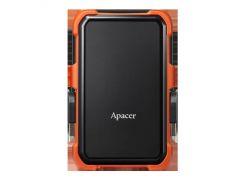 HDD накопитель Apacer AC630 2TB (AP2TBAC630T-1) USB 3.1 Orange (6351843)