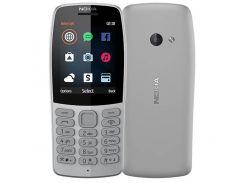 Мобильный телефон Nokia 210 Dual Sim Grey (6482588)